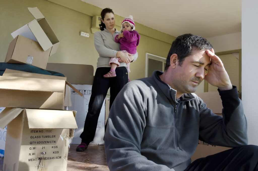 Getting Your Spouse Out of The House – It's Not as Easy as Closing the Door